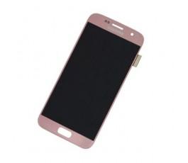 Pantalla completa táctil y lcd Samsung Galaxy S7 G930F Rosa