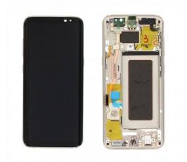 Pantalla completa para Samsung Galaxy S8 G950F dorada