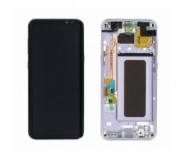 Pantalla completa para Samsung Galaxy S8 G950F purpura