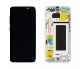 Pantalla completa lcd táctil marco para Samsung Galaxy S8 G950F gris
