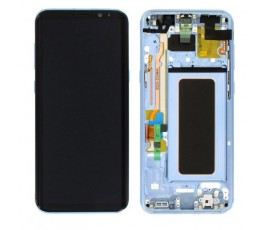 Pantalla completa con marco Samsung Galaxy S8 Plus G955F azul