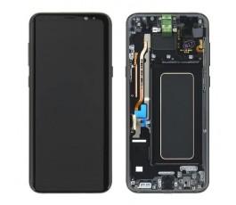 Pantalla completa con marco Samsung Galaxy S8 Plus G955F negro