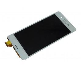 Pantalla completa táctil y lcd para Sony Xperia X F5121 F5122 blanca