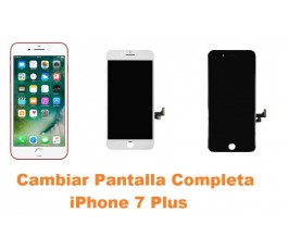 Cambiar pantalla completa táctil y lcd iPhone 7 Plus