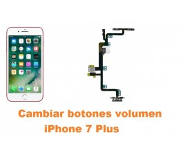 Cambiar botones volumen iPhone 7 Plus