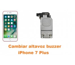 Cambiar altavoz buzzer iPhone 7 Plus