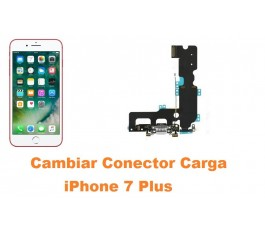 Cambiar conector carga iPhone 7 Plus