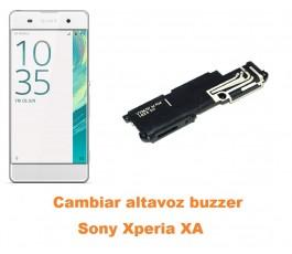 Cambiar altavoz buzzer Sony Xperia XA