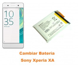 Cambiar batería Sony Xperia XA