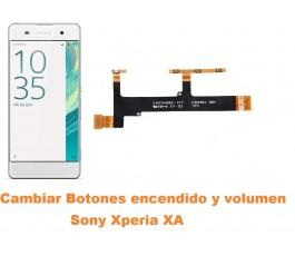 Cambiar botones encendido y volumen Sony Xperia XA
