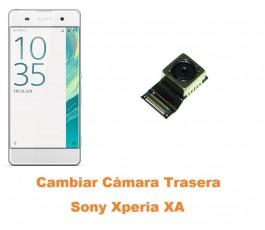 Cambiar cámara trasera Sony Xperia XA