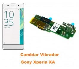 Cambiar vibrador Sony Xperia XA