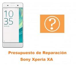 Presupuesto de reparacion Sony Xperia XA