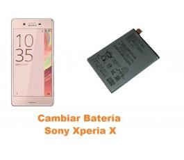Cambiar batería Sony Xperia X