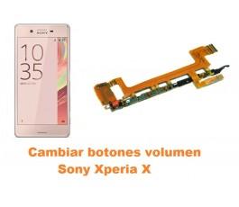 Cambiar botones volumen Sony Xperia X