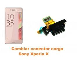 Cambiar conector carga Sony Xperia X
