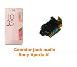 Cambiar jack audio Sony Xperia X