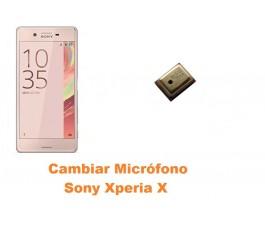Cambiar micrófono Sony Xperia X