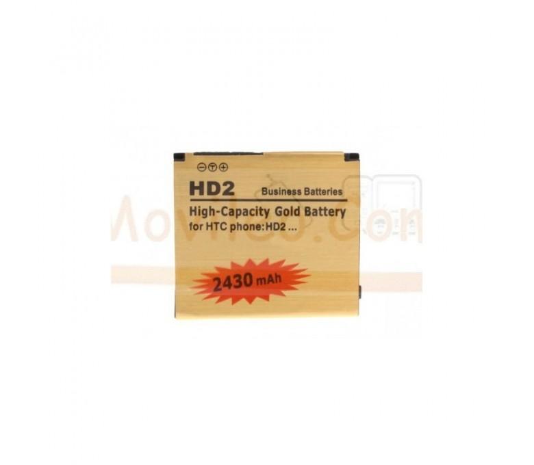 Bateria Gold de 2430mAh para Htc Desire HD2 - Imagen 1