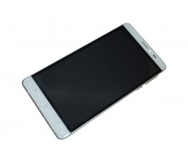 Pantalla completa con marco para Sky Devices Platinum 6.0 Plus blanco original