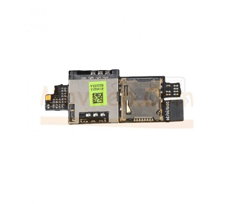 Modulo Lector Sim y Micro SD para Htc Desire Hd G10 - Imagen 1