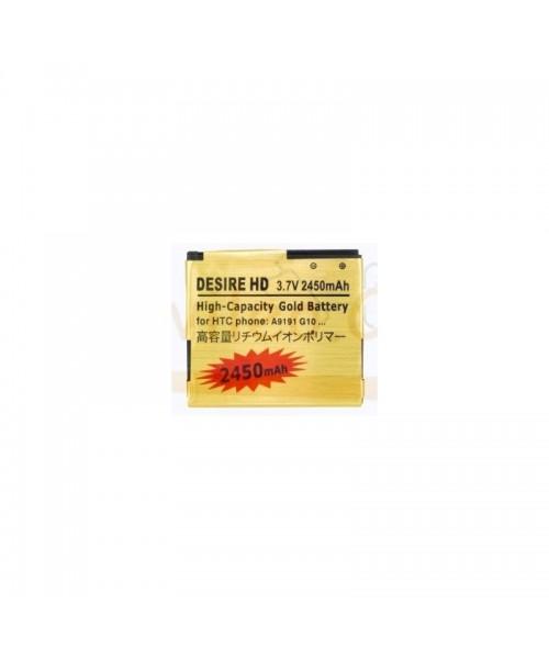 Bateria Gold de 2450mAh para Htc Desire HD G10 - Imagen 1