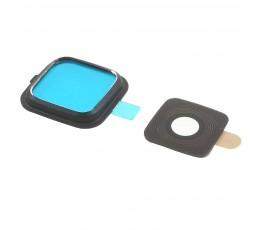 Embellecedor y cristal cámara para Samsung Note Edge N915 negro