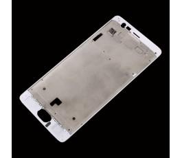 Marco pantalla para OnePlus 3 blanco