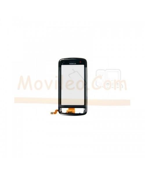 Pantalla Tactil con Marco Negro para Nokia C6-01 - Imagen 1