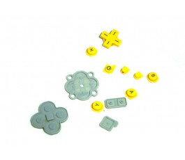 Botones para Nintendo DSi XL amarilla original