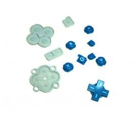 Botones para Nintendo DSi XL azul original