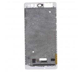 Marco pantalla para Huawei P9 Plus blanco