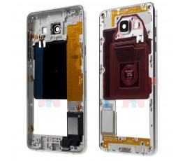 Marco intermedio para Samsung Galaxy A5 2016 A510 plata