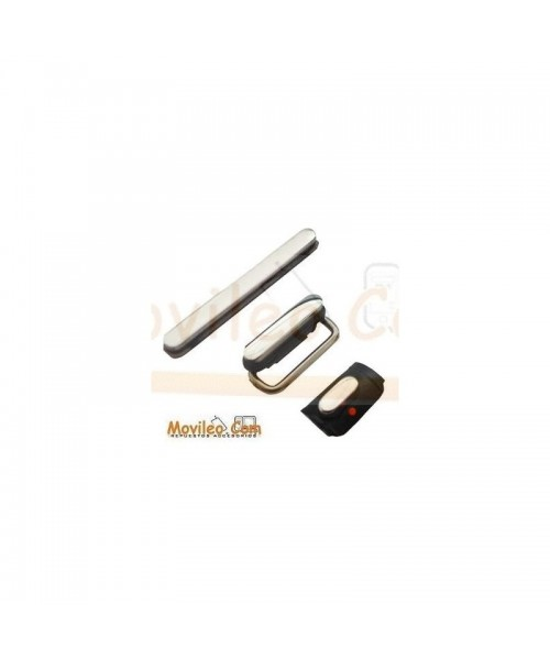 Set de botones 3 en 1 color negro iphone 3G 3GS - Imagen 1