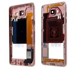 Marco intermedio para Samsung Galaxy A5 2016 A510 rosa
