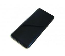 Pantalla completa táctil lcd y marco para Samsung Galaxy S8 Plus G955 negra original