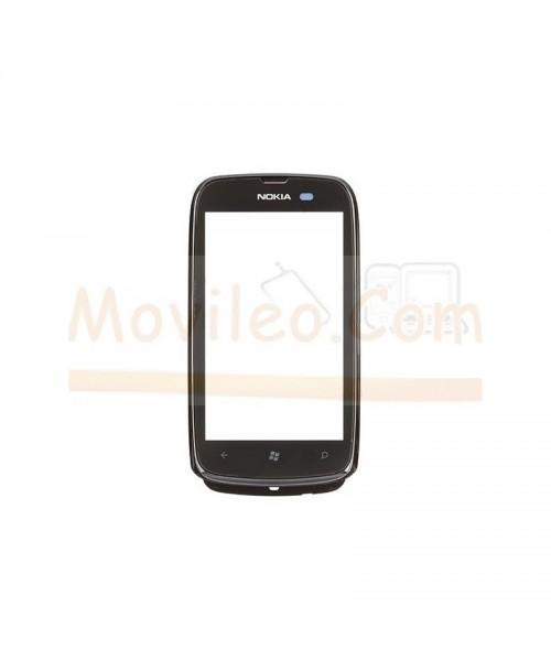 Pantalla Tactil con Marco Negro para Nokia Lumia 610 - Imagen 1