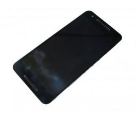 Pantalla completa con marco para Huawei Nexus 6P negra original
