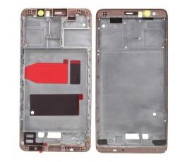 Marco pantalla para Huawei Mate 9 oro rosa