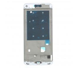 Marco pantalla para OnePlus 5 blanco