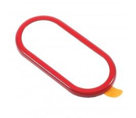 Embellecedor protector de cámara trasera para iPhone X 10 rojo