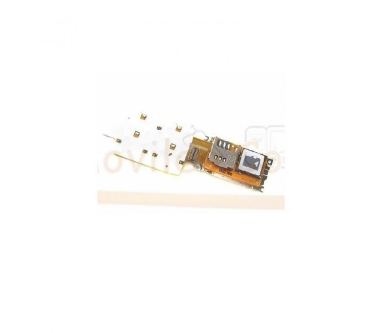 Flex Lector SIM, Lector Micro SD y Teclado para Nokia X3-02 - Imagen 1