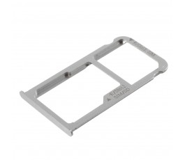Porta tarjeta sim y sd para Huawei Mate 8 plata