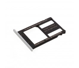 Porta tarjeta sim para Huawei Nexus 6P plata negro