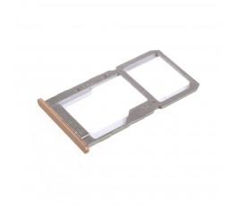Porta tarjeta sim y microSD para OnePlus X dorada