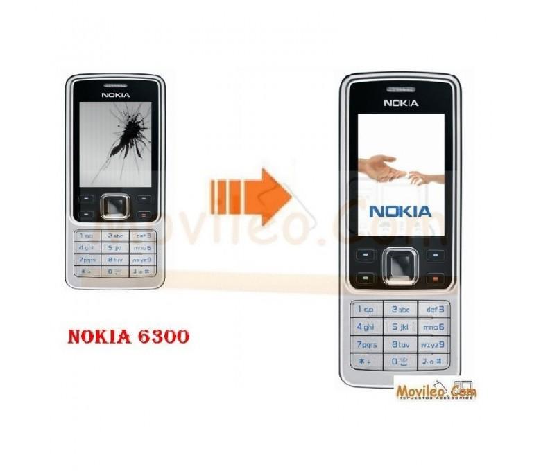 CAMBIAR PANTALLA LCD NOKIA 6300 - Imagen 1