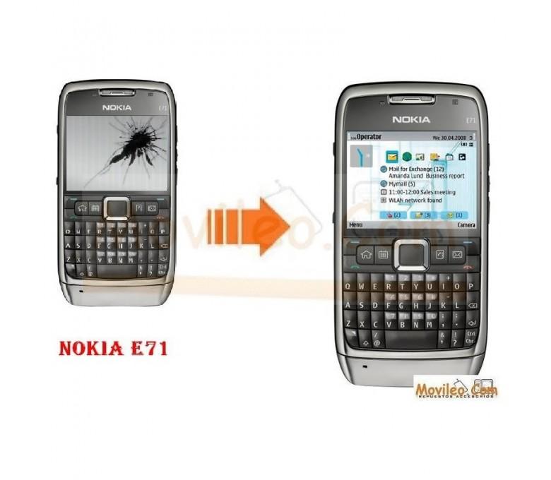 CAMBIAR PANTALLA LCD NOKIA E71 - Imagen 1