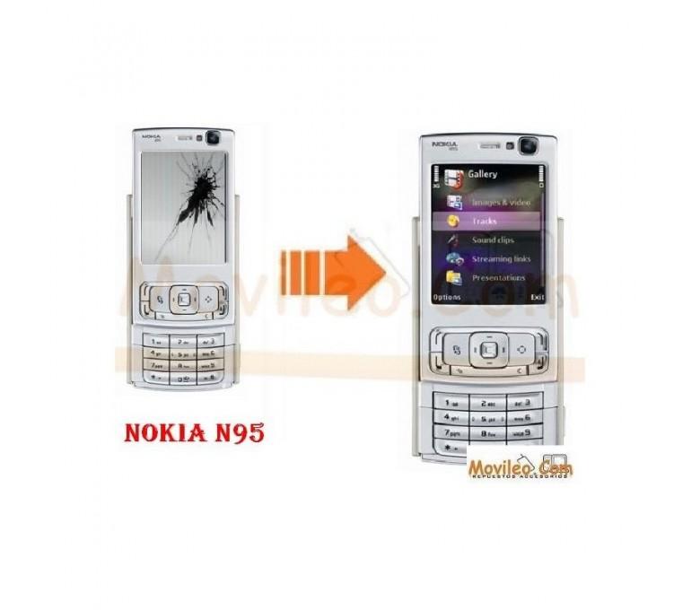 CAMBIAR PANTALLA LCD NOKIA N95 - Imagen 1