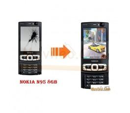 CAMBIAR PANTALLA LCD NOKIA N95 8GB - Imagen 1