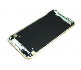 Marco pantalla para Lg X Cam K580 dorado original